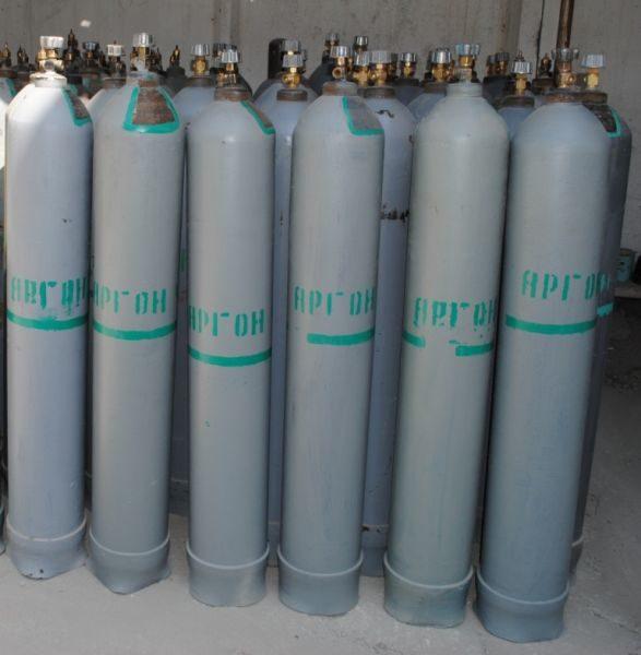 Аргон газообразный технический в баллоне 40 л.