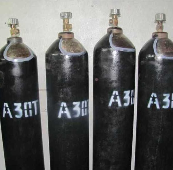 Азот (особой чистоты)