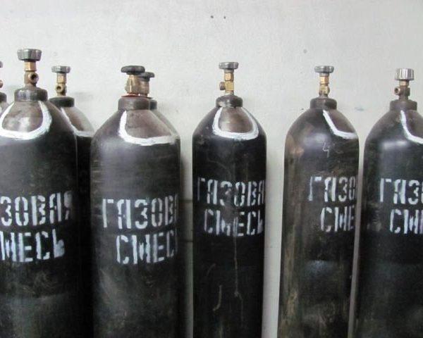 Сварочная газовая смесь (Ar/20CO2)